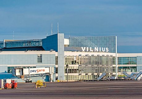 International Vilnius airport